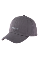 S17-9-2-HDT3231GY-SECRET EMBROIDERED CAP-GRAY/6PCS