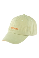 S17-9-1-HDT3231MN-SECRET EMBROIDERED CAP-MINT/6PCS