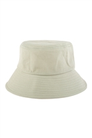 S26-8-5-HDT3236GL-PLAIN BUCKET HAT-LIGHT MINT/6PCS