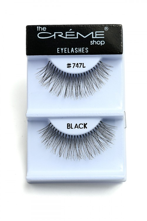 237-J-#747LBZ CREME EYELASHES/12PCS