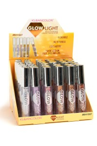 197-4-2-BH1087 KLEANCOLOR GLOWLIGHT MULTITASKING LIQUID HIGHLIGHTER/36PCS