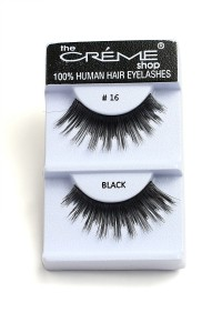 211-2-2-#16 THE CRÈME SHOP EYELASHES/12PCS