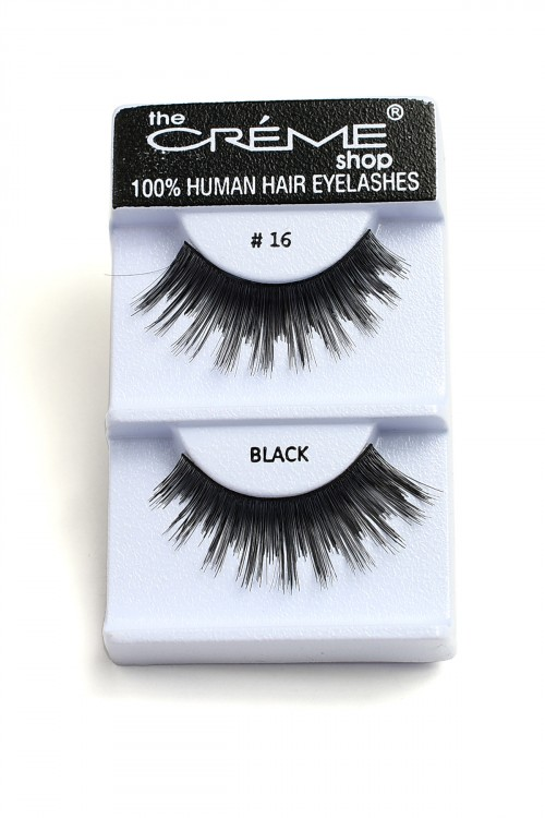237-H-#16 THE CRME SHOP EYELASHES/12PCS