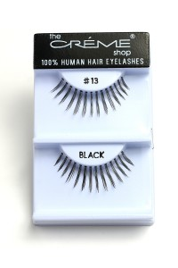 211-2-2-#13 THE CRÈME SHOP EYELASHES/12PCS