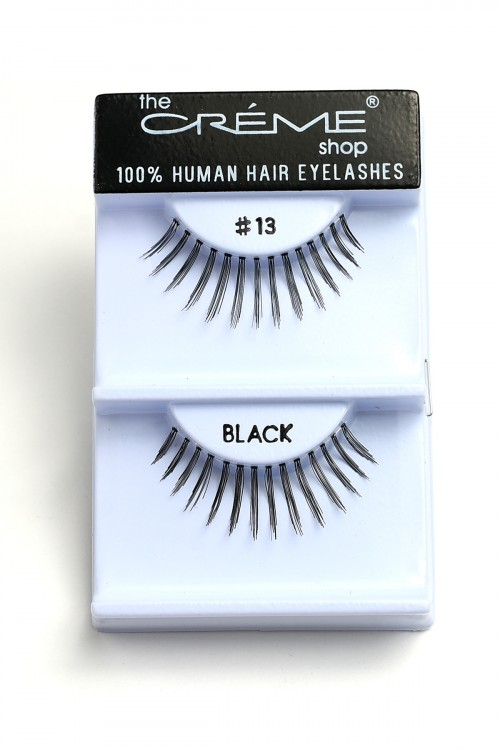 237-H-#13 THE CRME SHOP EYELASHES/12PCS
