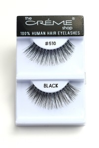 211-2-2-#510 THE CRÈME SHOP EYELASHES/12PCS