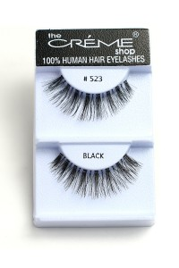 211-2-2-#523 THE CRÈME SHOP EYELASHES/12PCS