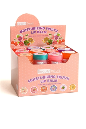 197-2-5-503 MOISTURIZING FRUITY LIP BALM/36PCS