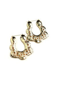 205-1-3-CE6373 DESIGN DROP EARRINGS/12PCS