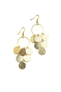 205-3-4-JAE28845 MULTI DESIGN DROP EARRINGS/12PCS
