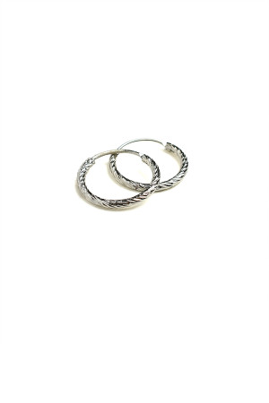 A2-2-3-JAE28417S HOOP EARRINGS/12PCS