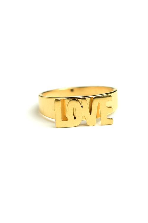 "203-1-4-AR2406 ""LOVE"" RINGS/12PCS"