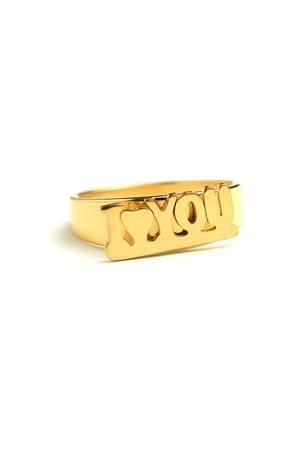 "A1-2-5-AR2409 ""I*HEART*YOU"" RINGS/12PCS"