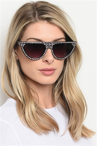 197-5-3-RH-3208 ASSORTED SUNGLASSES/12PCS