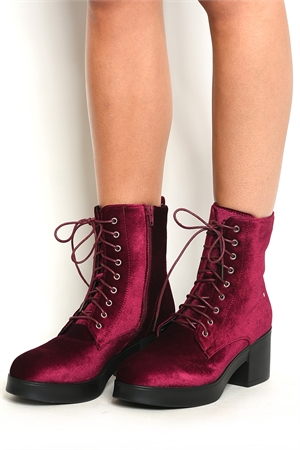 S1-P28-COTTON-3 WINE BOOTS 1-1-2-2-2-2/10PAIRS
