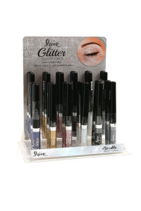"197-4-2-819 2ND LOVE 'GLITTER LIQUID"" EYELINER/24PCS"
