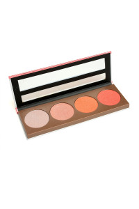 197-5-5-BH511 KLEANCOLOR MEGAWATTS MOONLIGHT FACE PALETTE/12PCS