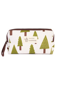S7-5-1-AJ122-4  GREEN TREE COSMETIC POUCH/6PCS