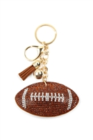 S28-7-3-KC380X023 - SPORTS FOOTBALL KEYCHAIN/6PCS