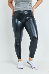 S12-9-1-LG9-186QX ASSORTED COLOR LATEX PLUS SIZE LEGGINGS/12PCS