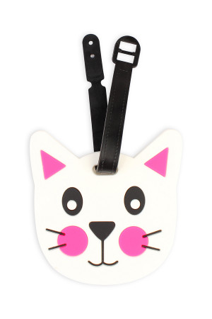 S6-6-3-ALT374X003 CAT LUGGAGE TAG/6PCS