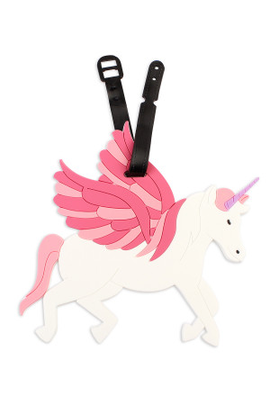 S7-6-2-ALT374X016 / HDP2047 UNICORN LUGGAGE TAG/6PCS
