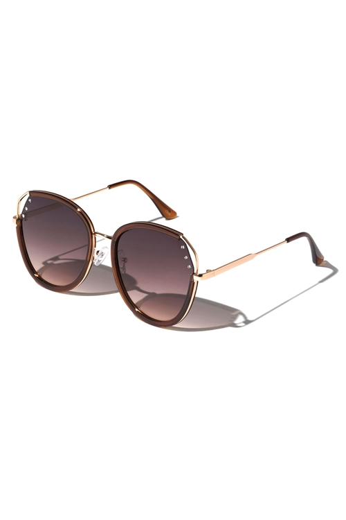 A3-3-5-M10738- FASHION AVIATOR SUNGLASSES /12PCS