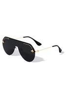 A3-1-5-M10802- ONE PIECE FASHION SUNGLASSES/12PCS