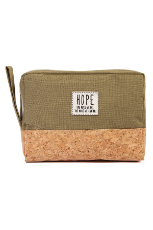 S4-5-5-AMP0005OV OLIVE HOPE COSMETIC POUCH/6PCS