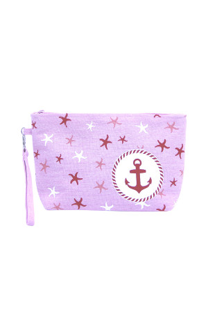 SA3-2-1-AMP0014PK PINK BEACH BAG POUCH ANCHOR/6PCS