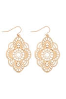 S22-11-2-MYE1279WG-FILIGREE DROP EARRINGS-GOLD/6PCS
