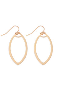 S22-9-4-MYE1280WG-OPEN MARQUISE DROP EARRINGS-GOLD/6PCS