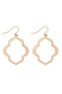 S21-12-4-MYE1284MG-MOROCCAN OPEN DROP EARRINGS-GOLD/6PAIRS
