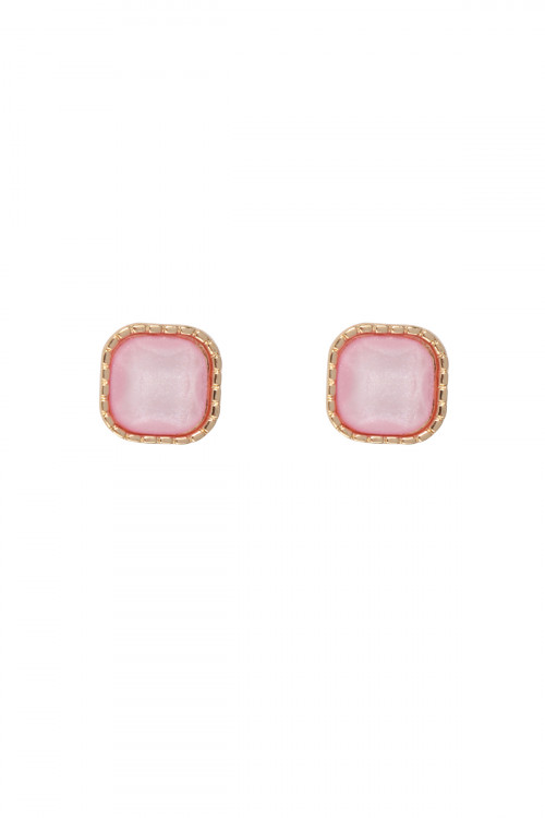 S20-11-3-MYE1289PK PINK EARRINGS/6PAIRS