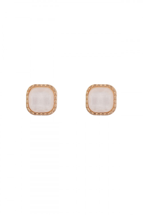 S20-11-3-MYE1289WT WHITE EARRINGS/6PAIRS