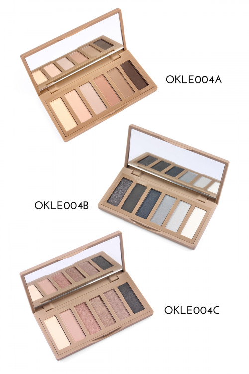 197-3-5-AE004ABC NATURAL COLOR PERFECT EYESHADOW MAKE UP PALETTE/12PCS