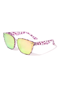 S17-4-5-P30272 - CAT EYE TINTED SUNGLASSES /12PCS