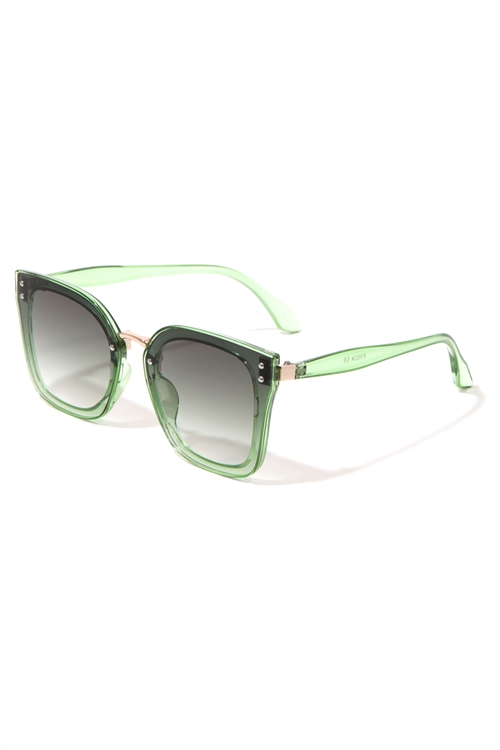 A3-3-5-P30324- BUTTERFLY TINTED SUNGLASSES/12PCS