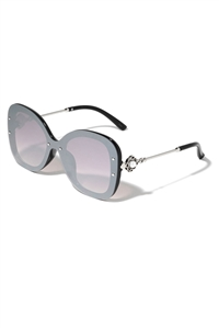 S1-7-2-P30360 - CLASSIC BUTTERFLY SUNGLASSES /12PCS