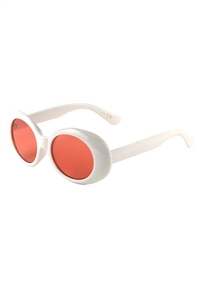 A3-3-5-P6368-WHITE-CO - FASHION SUNGLASSES /12PCS