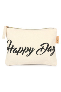"SA3-1-4-APCH015 ""HAPPY DAY"" ECO POUCH/6PCS"
