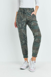 S16-1-5-PPP4071-ARM - CAMOUFLAGE JOGGER PANTS WITH SELF TIE- ARMY2 1-2-2-2