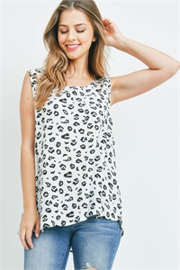 S15-4-3-PPT2359-OFWTMC - LEOPARD PRINT TANK TOP WITH POCKET- OFF-WHITE/MOCHA 1-2-2-2