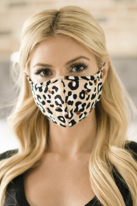 S5-8-1-ARFM6001-RAP021-LEO-KHAKI LEOPARD PRINTED REUSABLE FACE MASK FOR ADULT/12PCS