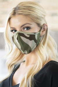 A1-2-1-ARFM6001-RCM010-MO MOSS CAMOUFLAGE REUSABLE FACE MASKS FOR ADULTS/12PCS