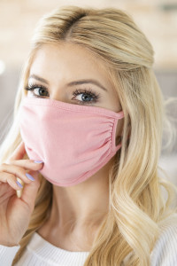 S3-4-1-RFM6002-CT-DUPK DUSTY PINK PLAIN REUSABLE FACE MASK FOR ADULTS/12PCS