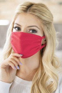 S5-7-3-RFM6002-CT-SCO SUPER CORAL PLAIN REUSABLE FACE MASK FOR ADULTS/12PCS