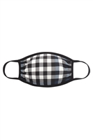 SA3-5-1-RFM6002-RPR047-NV-PLAID FACE MASK-NAVY/12PCS