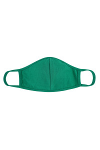 S6-4-2-ARFM7001K-CT-KGRN KELLEY GREEN REUSABLE FACE MASK FOR KIDS/12PCS **Size not intended for kids 2 years old and below**
