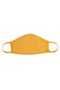 S5-7-3-ARFM7001K-CT-LMU LIGHT MUSTARD REUSABLE FACE MASK FOR KIDS/12PCS **Size not intended for kids 2 years old and below**